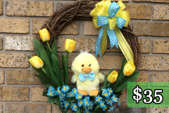 "Baby Duck 17"" Grapevine $35"
